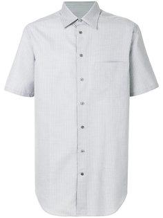 рубашка в полоску с короткими рукавами Armani Collezioni