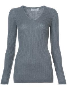 свитер с глубоким вырезом Vince