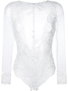 lace-embroidered bodysuit Prelude