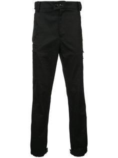 брюки с эластичными манжетами Raf Simons
