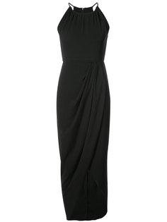 драпированное платье с запахом Shona Joy