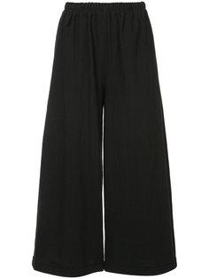 широкие брюки  с завышенной талией By Walid