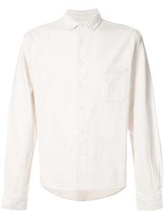 рубашка с накладным карманом YMC