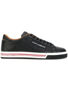 кроссовки с логотипом сбоку Dolce & Gabbana