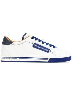 кроссовки с логотипом Dolce & Gabbana