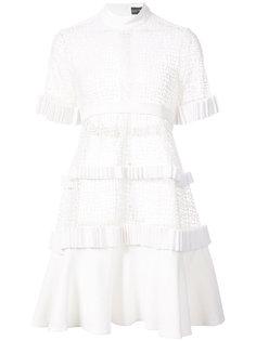 кружевное платье  David Koma