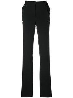 брюки с шлицами на манжетах  David Koma
