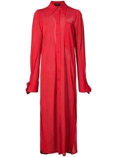 длинное платье-рубашка Joseph