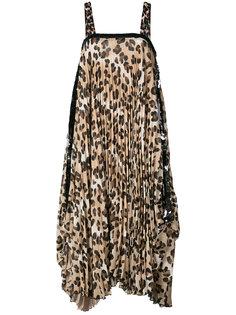 платье шифт с леопардовым принтом Loyd/Ford
