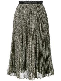 плиссированная юбка с блестящей отделкой Loyd/Ford