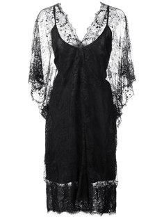 кружевное платье с V-образным вырезом Loyd/Ford