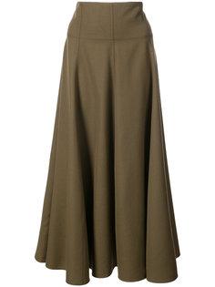 длинная расклешенная юбка Joseph
