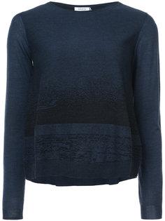 two tone sweater Akris Punto