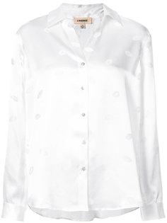 lip print blouse Lagence