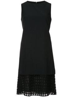sleeveless layered dress Akris Punto