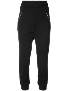 спортивные брюки с карманами на молнии Baja East