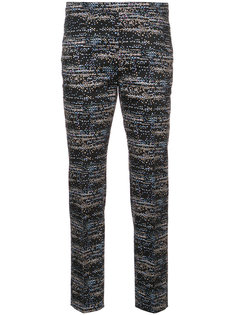 patterned cropped trousers Akris Punto