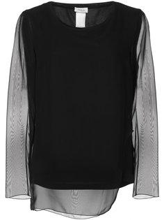 sheer sleeve blouse Akris Punto