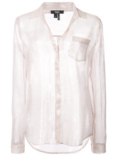 shimmer blouse Paige