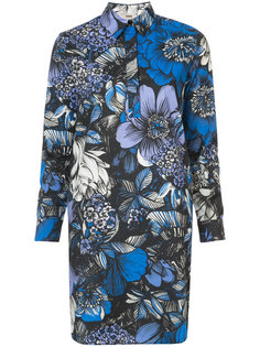 floral print shirt dress Fuzzi