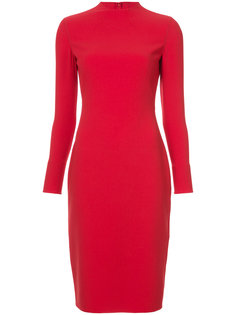 приталенное платье миди  Ralph Lauren