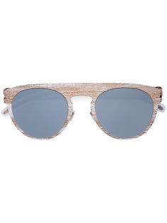 солнцезащитные очки  с полосатым узором Mykita