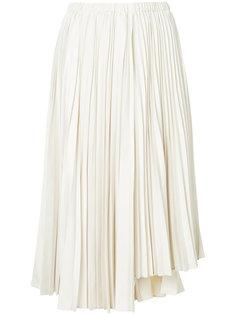 асимметричная плиссированная юбка Estnation
