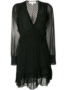 платье с глубоким вырезом Michael Michael Kors