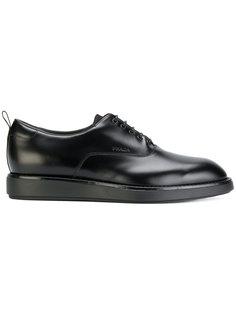 туфли на утолщенной подошве Prada