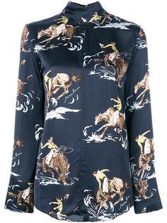 рубашка с принтом Nina Ricci