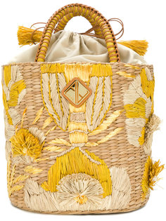 плетеная сумка-ведро Aranaz