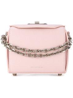 сумка через плечо с цепочными деталями Alexander McQueen
