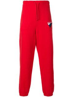 спортивные брюки с вышивкой логотипа Adidas