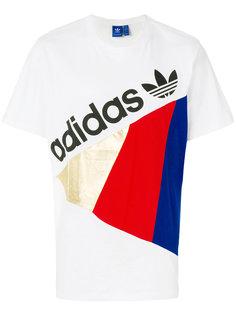 футболка с принтом Adidas