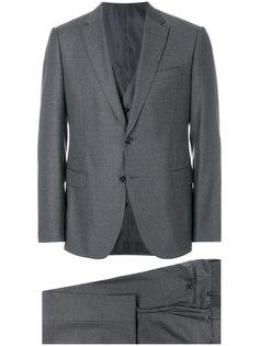 костюм-тройка кроя слим Armani Collezioni