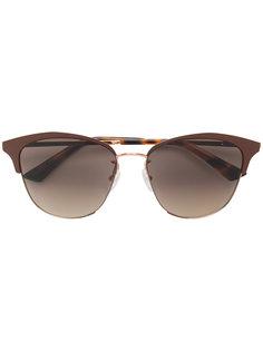 объемные солнцезащитные очки Mcq By Alexander Mcqueen Eyewear