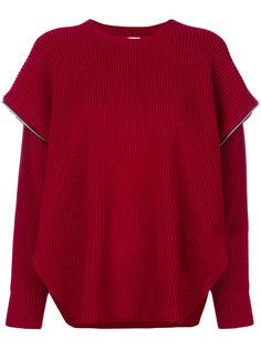 свитер с ярусными рукавами  Akep