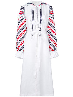 платье с узором и оборками Vita Kin