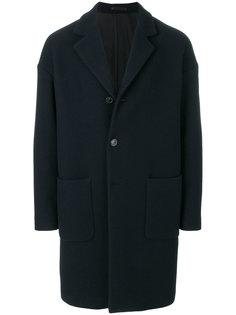 однобортное пальто Mauro Grifoni