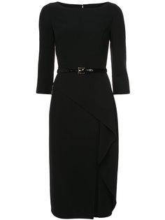 асимметричное платье с поясом Michael Kors