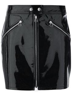 мини юбка на молнии спереди Rag & Bone