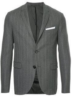 пиджак в полоску Neil Barrett