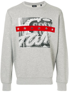 graphic print sweatshirt Diesel