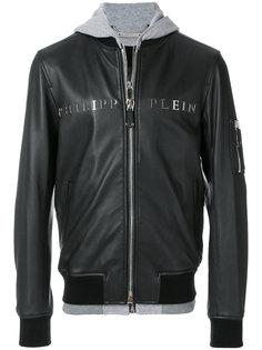 куртка-бомбер с капюшоном Urban Philipp Plein