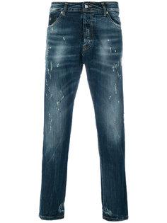 джинсы прямого кроя John Richmond