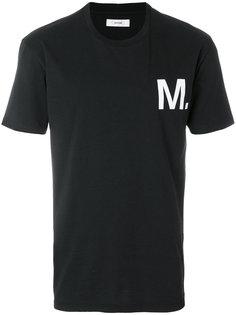 футболка с логотипом Mauro Grifoni