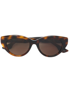 солнцезащитные очки кошачий глаз в черепаховой оправе Mcq By Alexander Mcqueen Eyewear