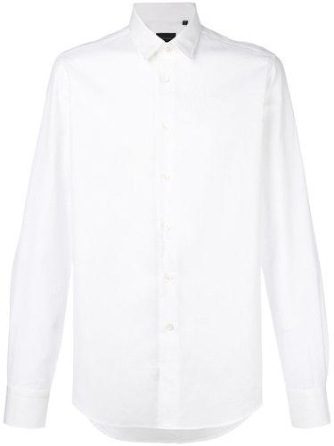 жаккардовая рубашка в ромбик Dell'oglio