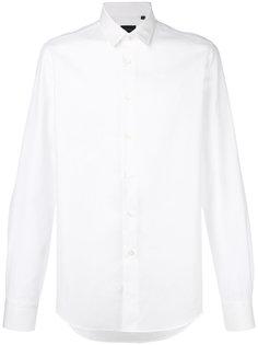жаккардовая рубашка в ромбик Delloglio