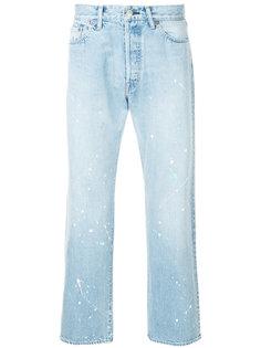 укороченные джинсы  Unused